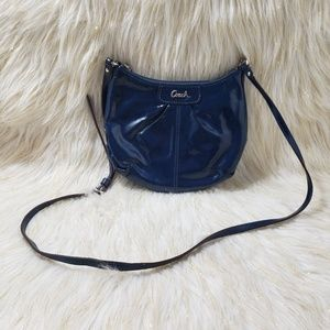 Coach Navy Blue Messenger Bag